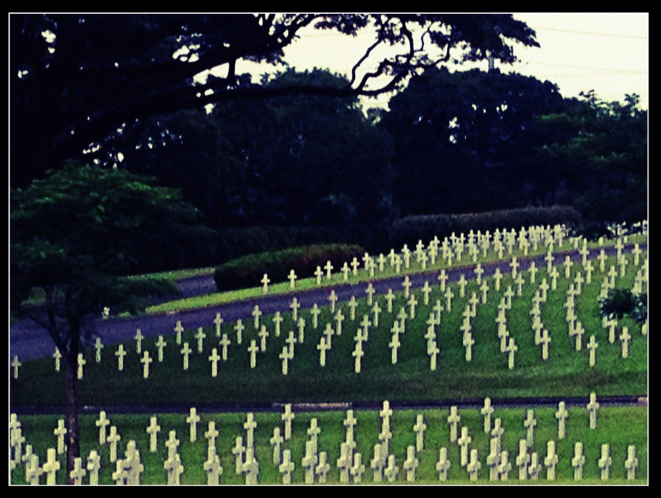 Manila American Cemetery and Memorial Taguig City  Philippines