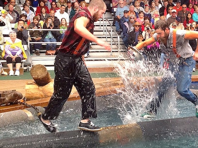 The Great Alaskan Lumberjack Show Ketchikan Alaska United States