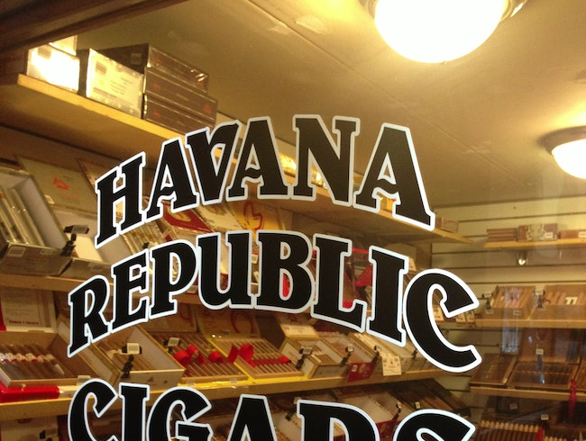 Smoke a Cuban-style Cigar at Havana Republic Cigars
