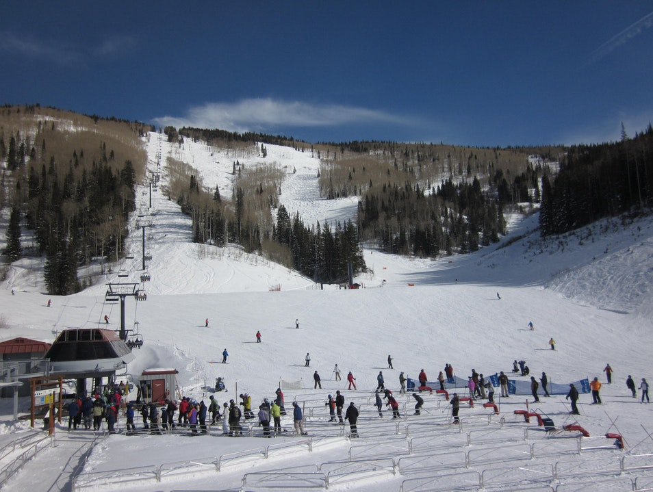Never Too Crowded Skiing Steamboat Springs Colorado United States