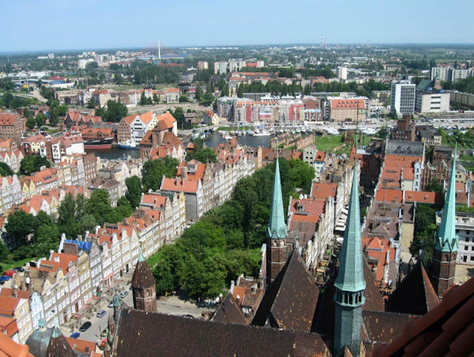 The Bell-Tower-View of Gdańsk