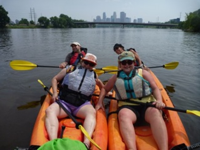 Choose Your Own Adventure Minneapolis - Kayaking the Mississippi