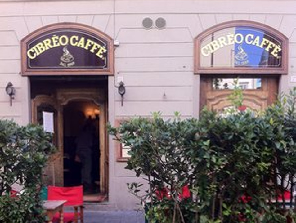 Coffee in Sant'Ambrogio  Florence  Italy