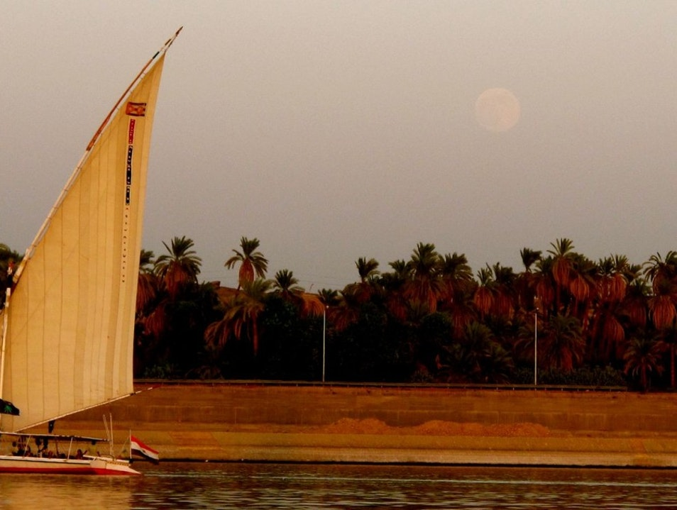 Dreaming on the Nile Luxor  Egypt