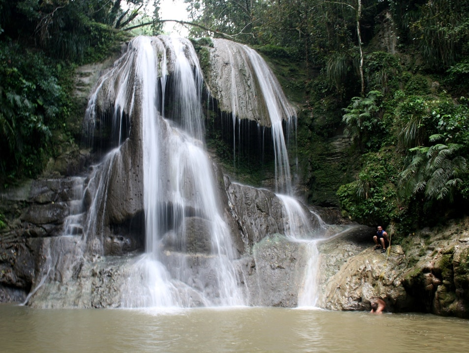 Diving into Divine Waterfalls