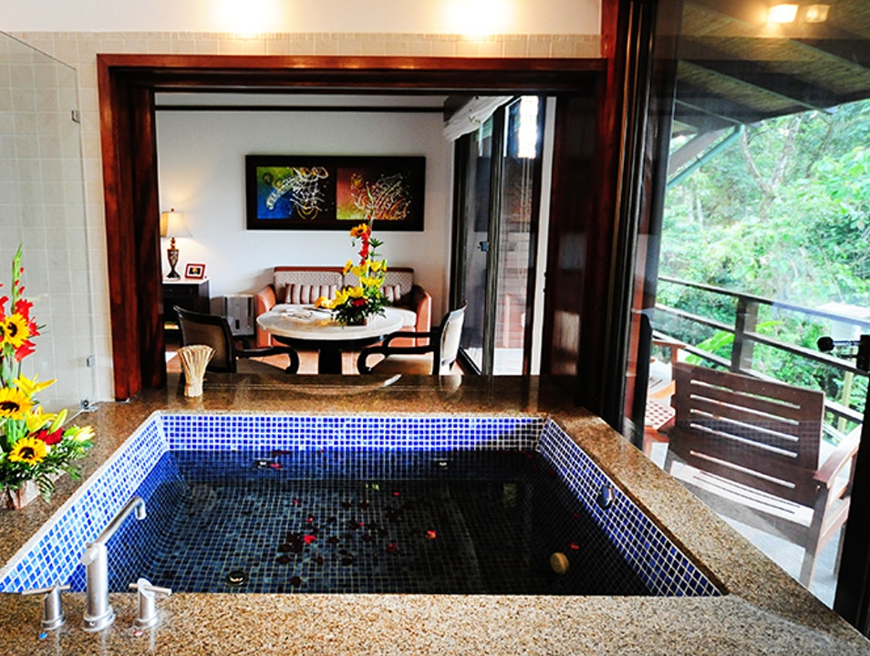 Hot Springs Lodgings: Tabacón Thermal Resort & Spa in Alajuela, Costa Rica Nuevo Arenal  Costa Rica