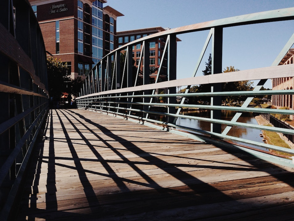 Strolling Along the River Greenville South Carolina United States
