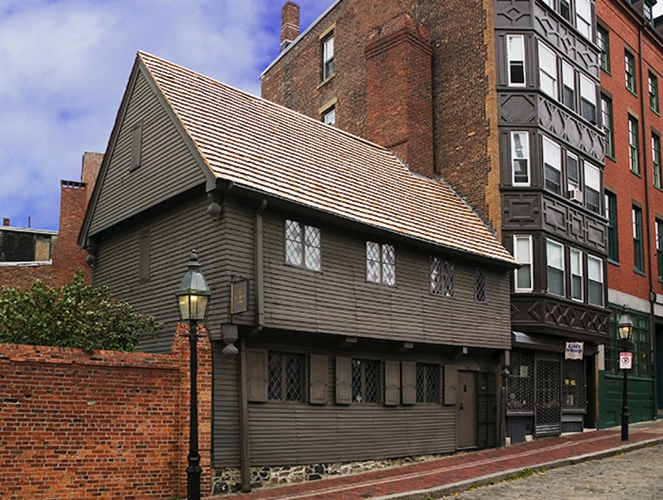 The Paul Revere House Boston Massachusetts United States