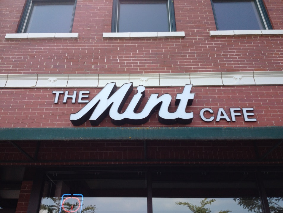Have A Classic Lunch At The Mint Cafe