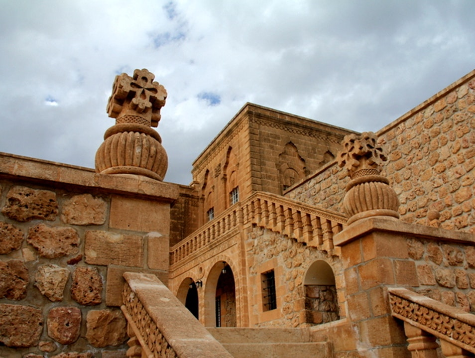 The Monastery of Saint Gabriel Midyat  Turkey