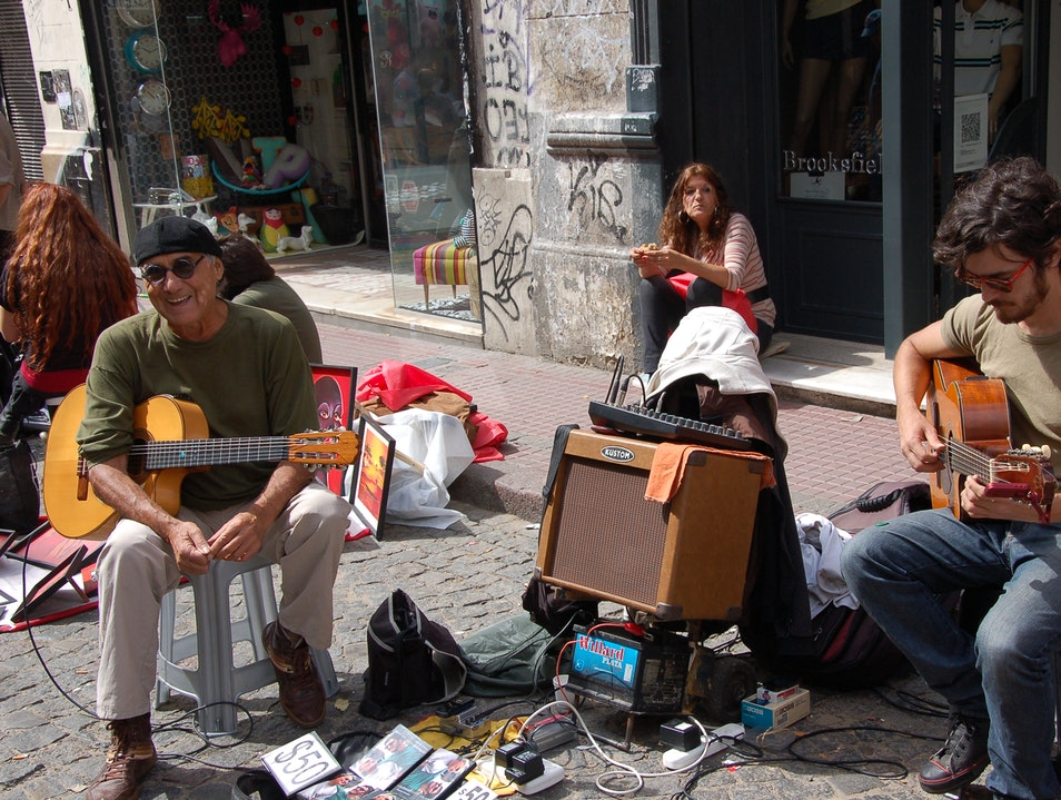 Street Musicians - Music To My Ears Buenos Aires  Argentina