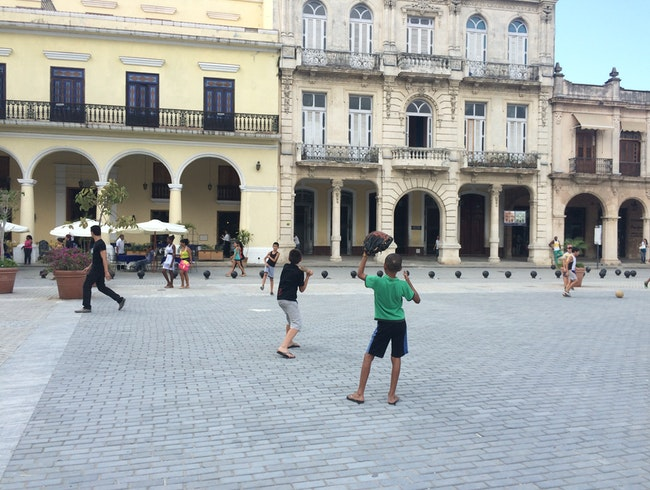 The Best Plaza in Havana, Cuba