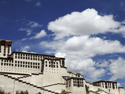 The Potala Palace Lhasa  China