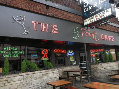 The 5 Point Cafe Seattle Washington United States