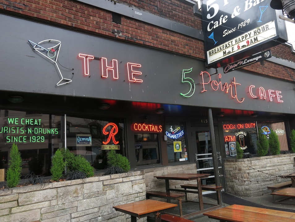 Breakfast Happy Hour at 5 Point Cafe