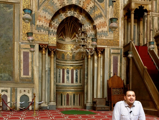 A Modern Imam at Sultan Hassan