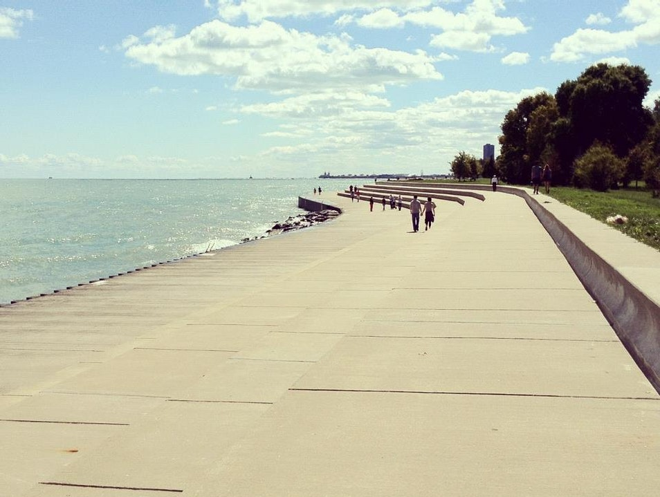Beautiful Lake Michigan Chicago Illinois United States