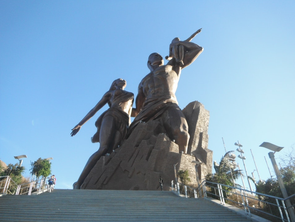 The Monument with an Infamous Reputation Dakar  Senegal