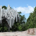 Sibelius Park and Monument Helsinki  Finland
