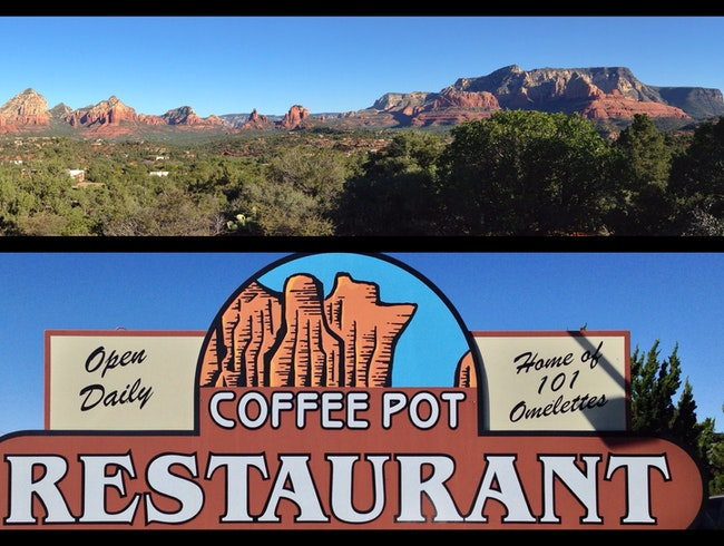 Fuel up at Coffee Pot before hiking out to the Coffee Pot