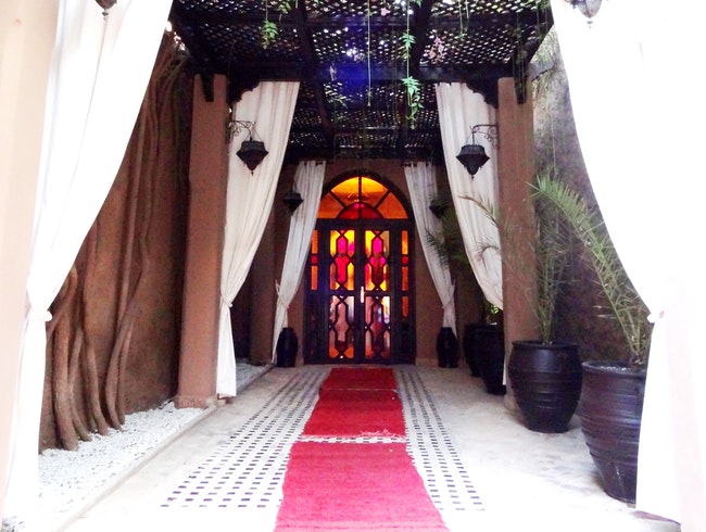 A private hammam in Marrakech