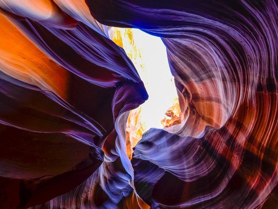 Upper Antelope Canyon  Page Arizona United States