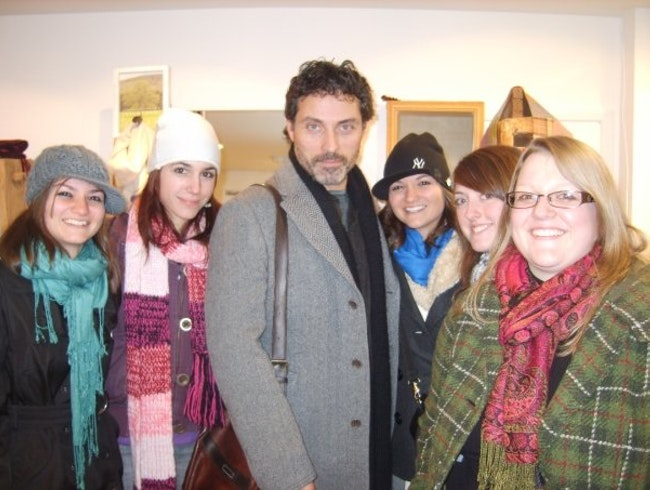 Rufus Sewell in London baby!