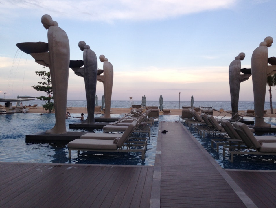 Sunset at The Mulia  Kuta  Indonesia