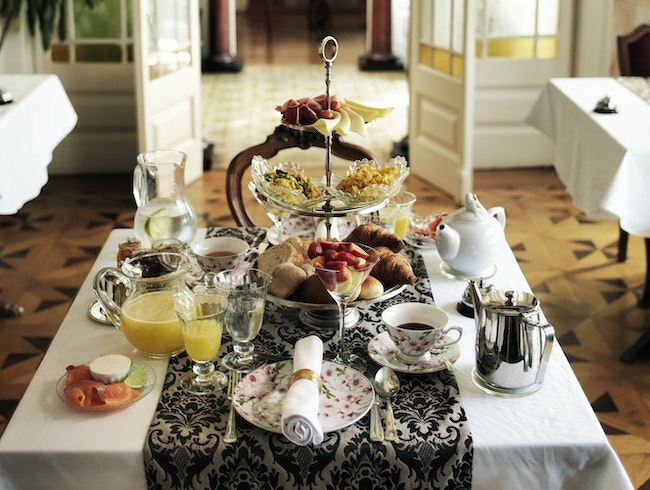 This Palace-Turned-Hotel Has an Epic Breakfast Spread for All