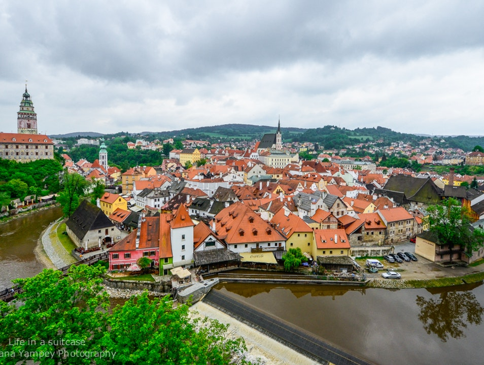 A visit to South Bohemia Cesky Krumlov  Czech Republic