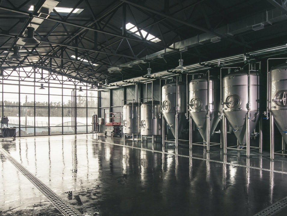 Craft Beer in a Cool Space