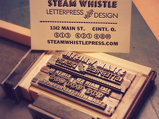 Classic Letterpress in Cincinnati