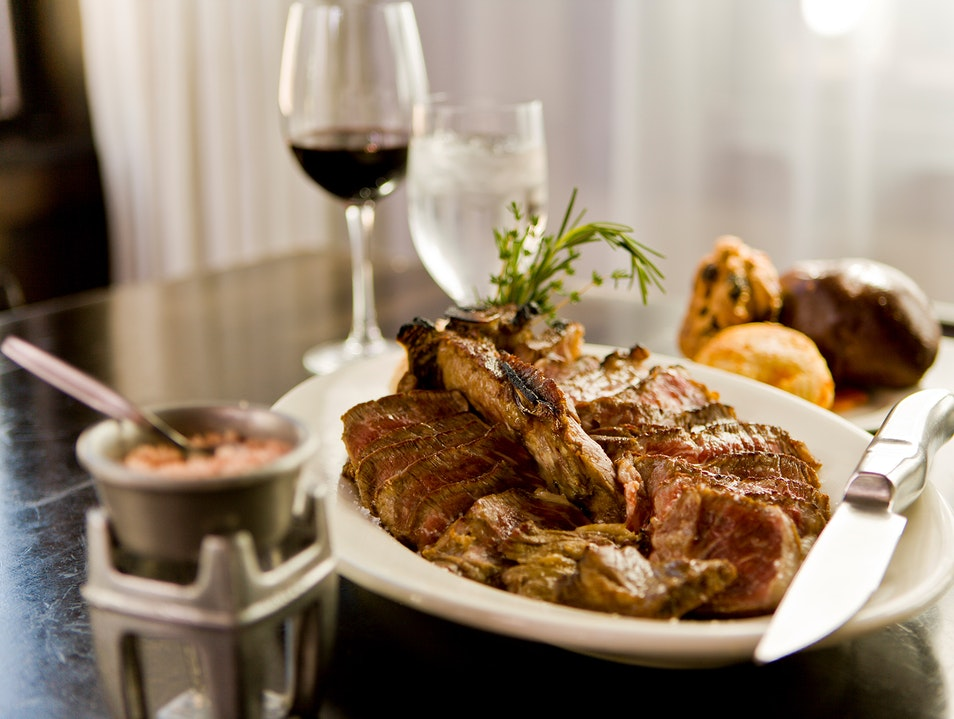Modern Classic Steakhouse On South Beach Miami Beach Florida United States
