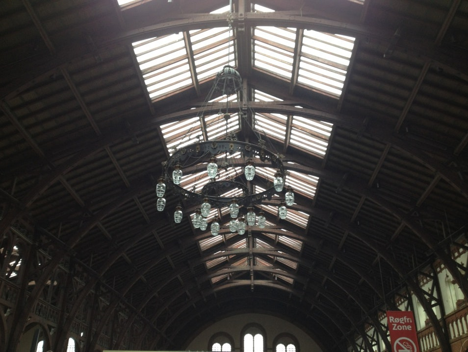 Central Station's Amazing Ceiling Copenhagen  Denmark