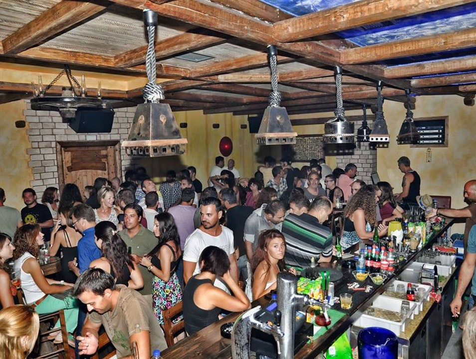 Laid-Back Nightlife And Live Music At Loco Bar  Marathopoli  Greece