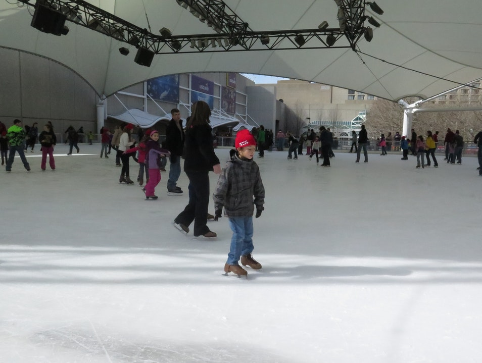 Family-Friendly Ice Skating Kansas City Missouri United States