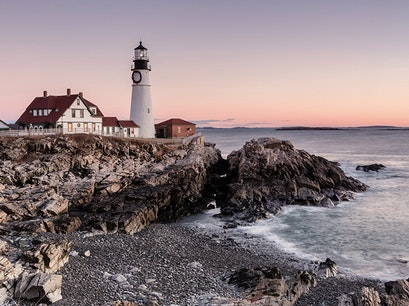 Portland Head Light Cape Elizabeth Maine United States