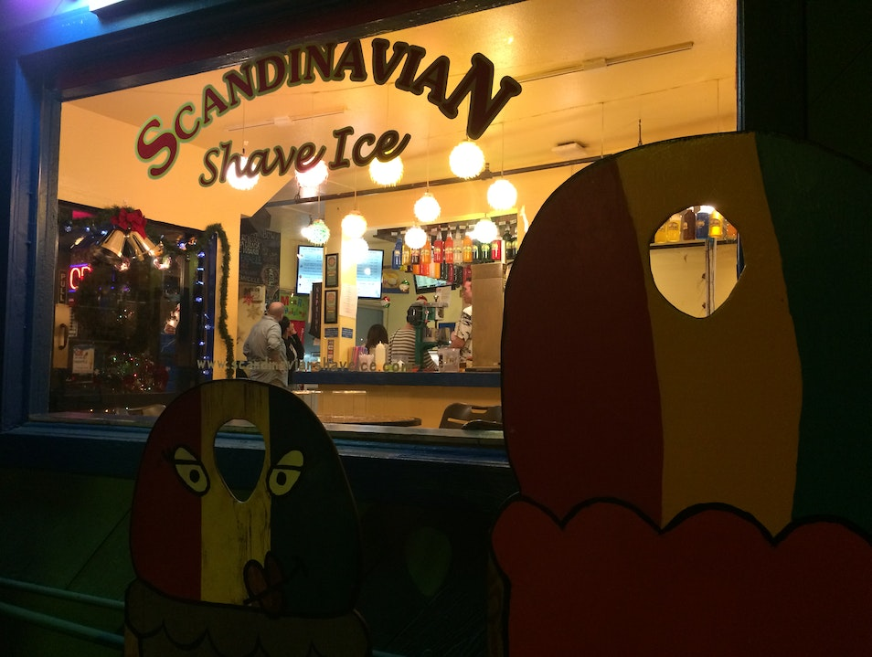 Scandinavian Shave Ice Kailua Kona Hawaii United States