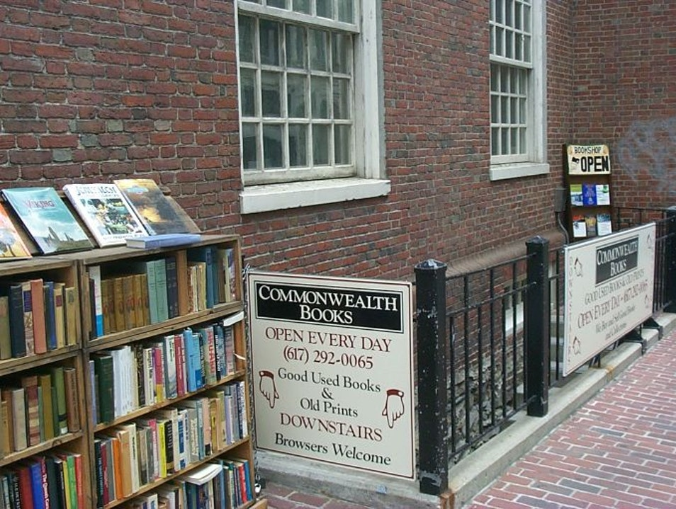 One of Boston's Finest Bookshops Boston Massachusetts United States