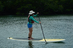 Paddleboarding on Vieques