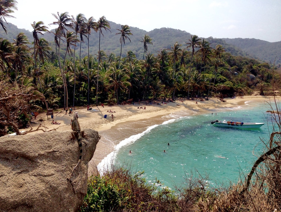 Camp in Paradise at Tayrona National Park Barranquilla  Colombia