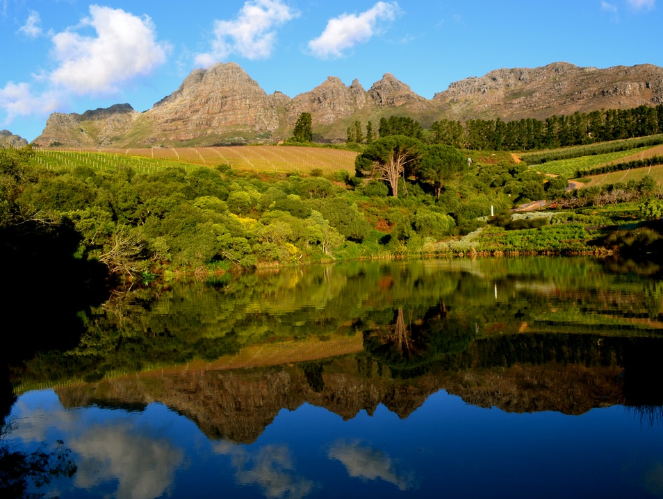 Stellenbosch's Hidden Valley Stellenbosch  South Africa