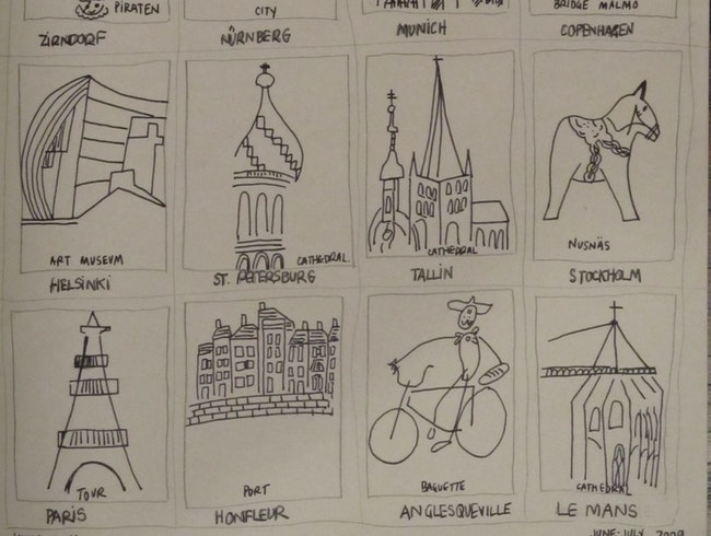 A Graphic Tour of Northern Europe