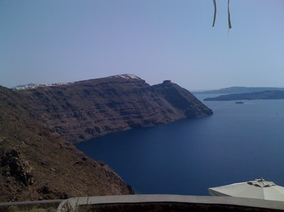 Ancient Walk From Thira to Oia Thira  Greece