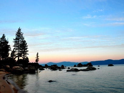 Sand Harbor of Lake Tahoe Nevada State Park New Washoe City Nevada United States
