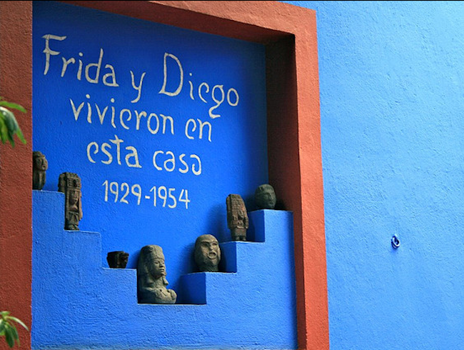 Visit the Home Where Frida (and Diego) Lived