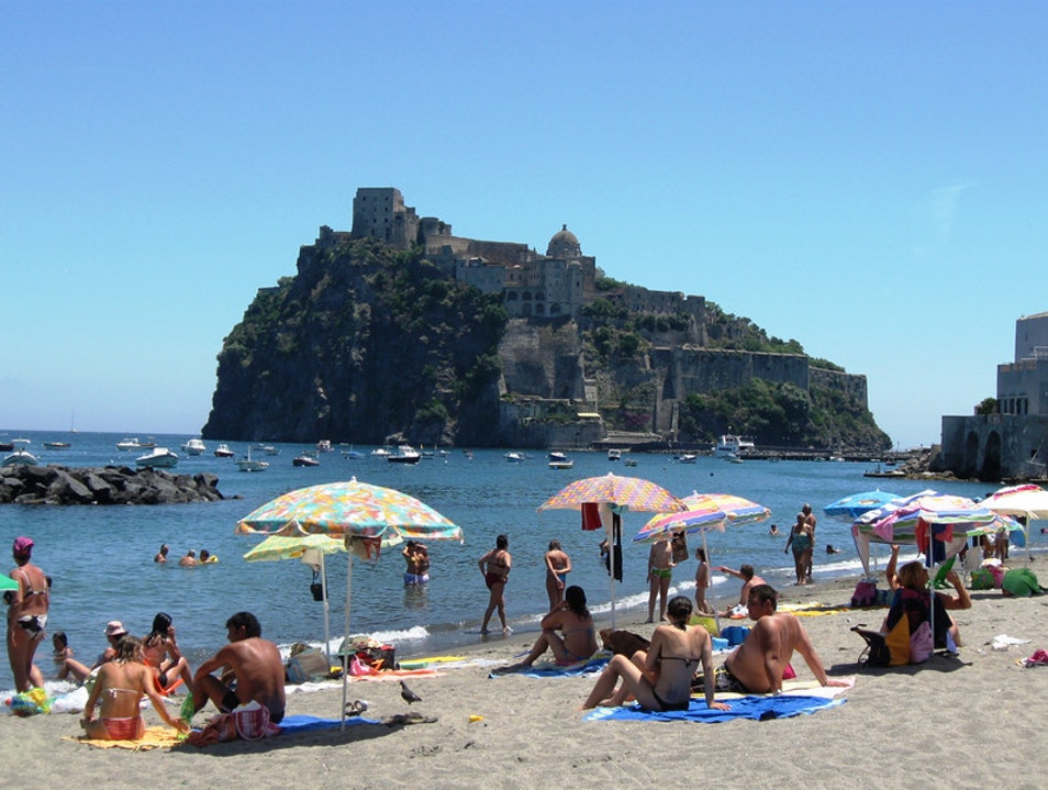 The Castle at San Angelo Ischia  Italy