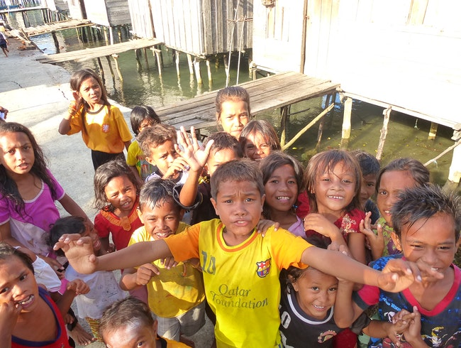 Enjoying Children of the Bajau Sea Gypsies
