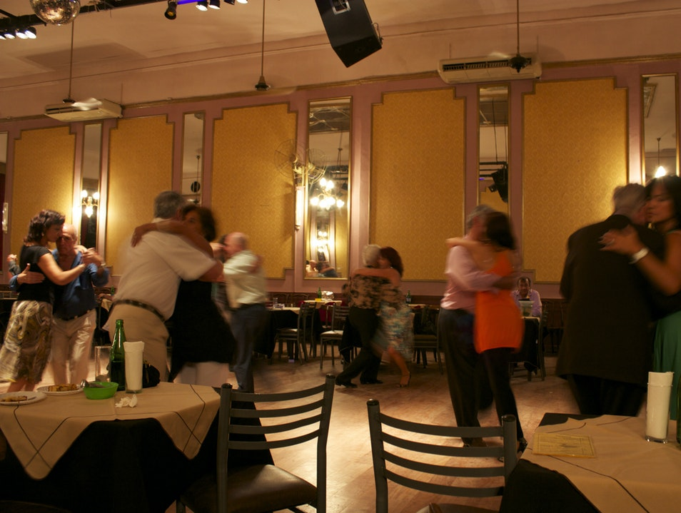 Watch real-life tango at a milonga Buenos Aires  Argentina
