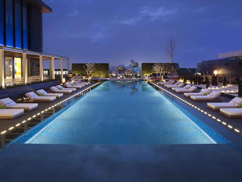 Cool Down in Style at WET Bar & Rooftop Pool  Taipei  Taiwan